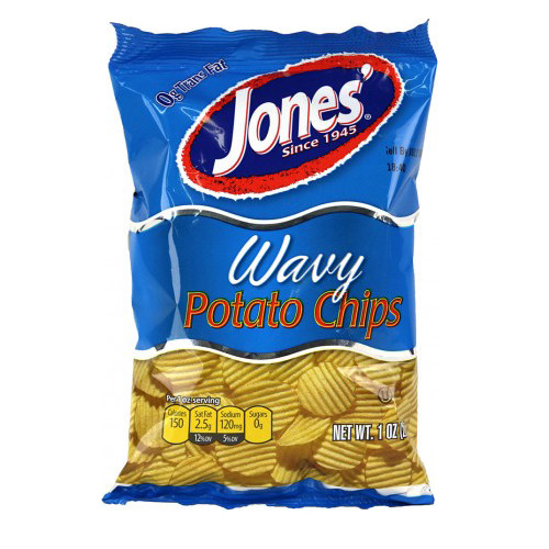 Jones Potato Chips  1 oz Single Serve 60 Bags – Jones Potato Chip pany