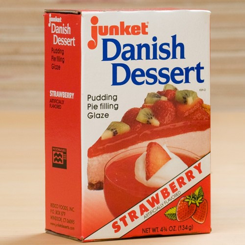 Junket Danish Dessert  Junket Danish Dessert Raspberry