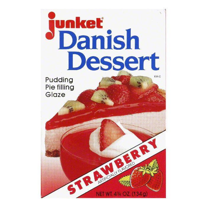 Junket Danish Dessert  Junket Danish Dessert Strawberry