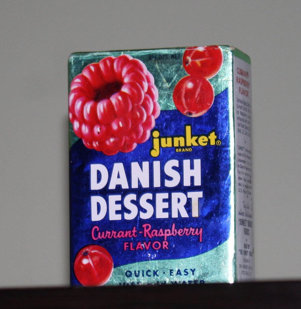 Junket Danish Dessert  The World s Best s of package and vintage Flickr