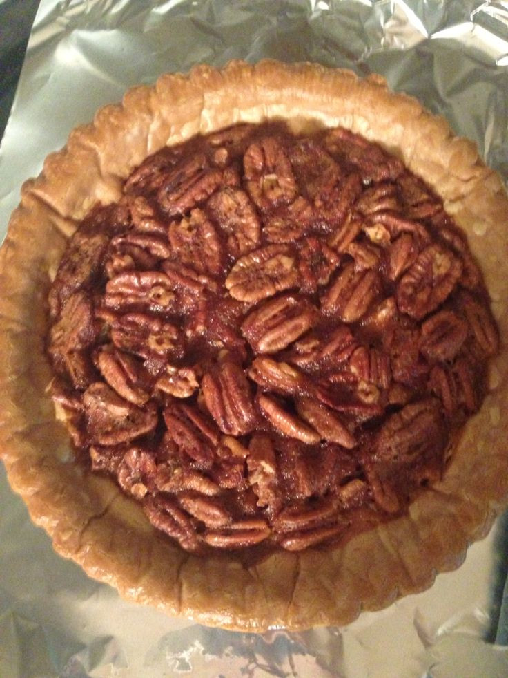 Karo Syrup Pecan Pie  Pecan Pie with no karo syrup The best recipe So fluffy