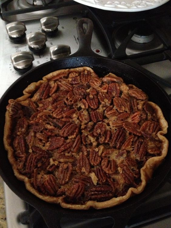 Karo Syrup Pecan Pie  Karo syrup Pecan pies and Skillets on Pinterest