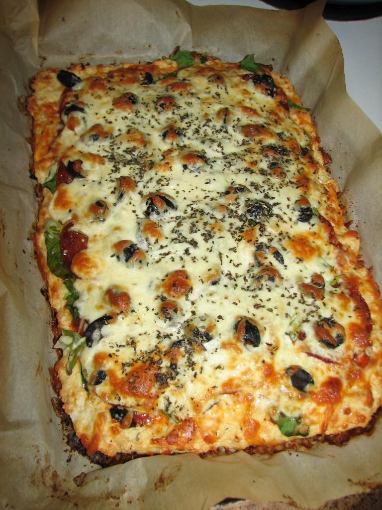 Keto Chicken Crust Pizza  Chicken Crust Pizza A successful experiment