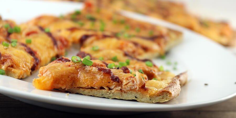 Keto Chicken Crust Pizza  Keto BBQ Chicken Pizza Dairy Free Crust