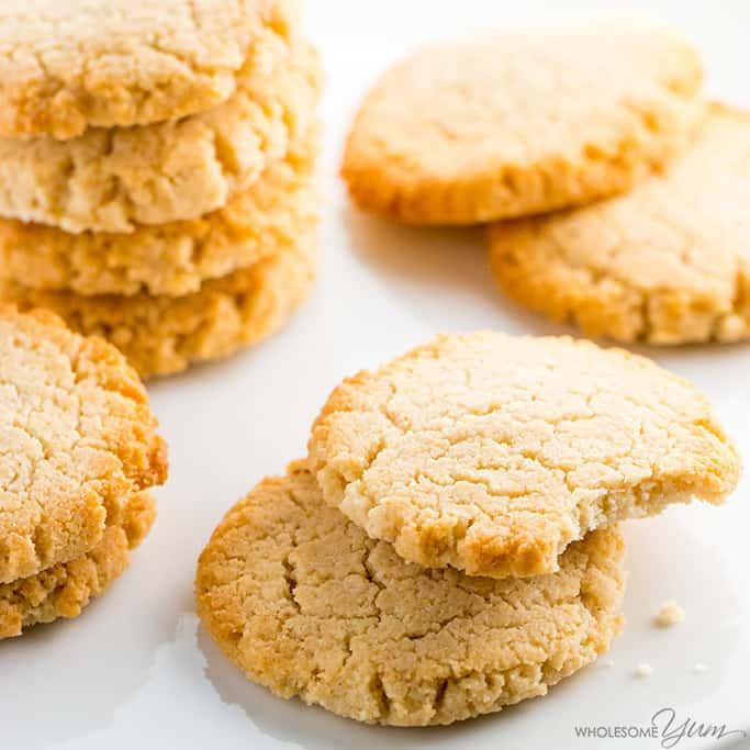 Keto Cookies Recipe  Low Carb Keto Cream Cheese Cookies Recipe Quick & Easy