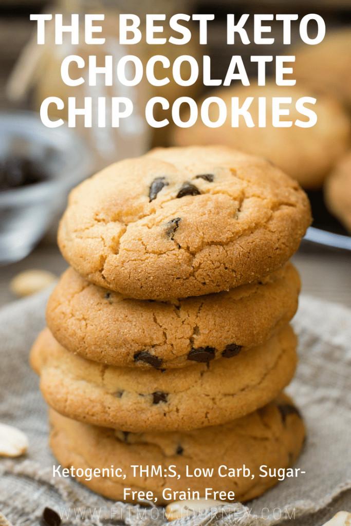 Keto Cookies Recipe  The Best Keto Chocolate Chip Cookies
