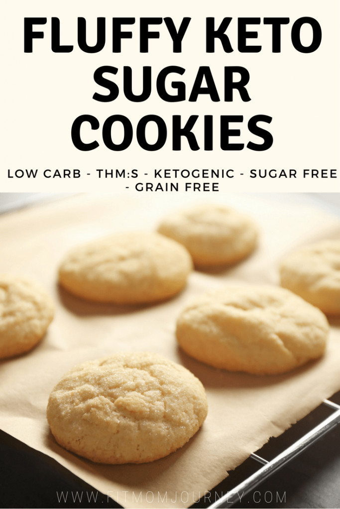 Keto Desserts You Can Buy  Fluffy Keto Sugar Cookies THM S Low Carb Ketogenic