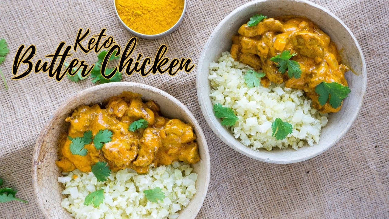 Keto Indian Recipes  Keto Butter Chicken