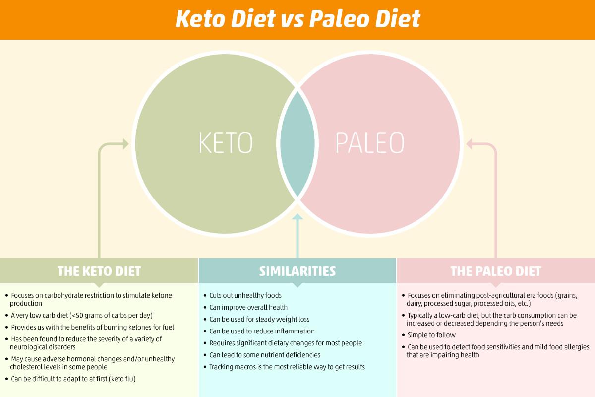Keto Paleo Diet  Keto Diet vs Paleo Diet Is Keto Better Than Paleo