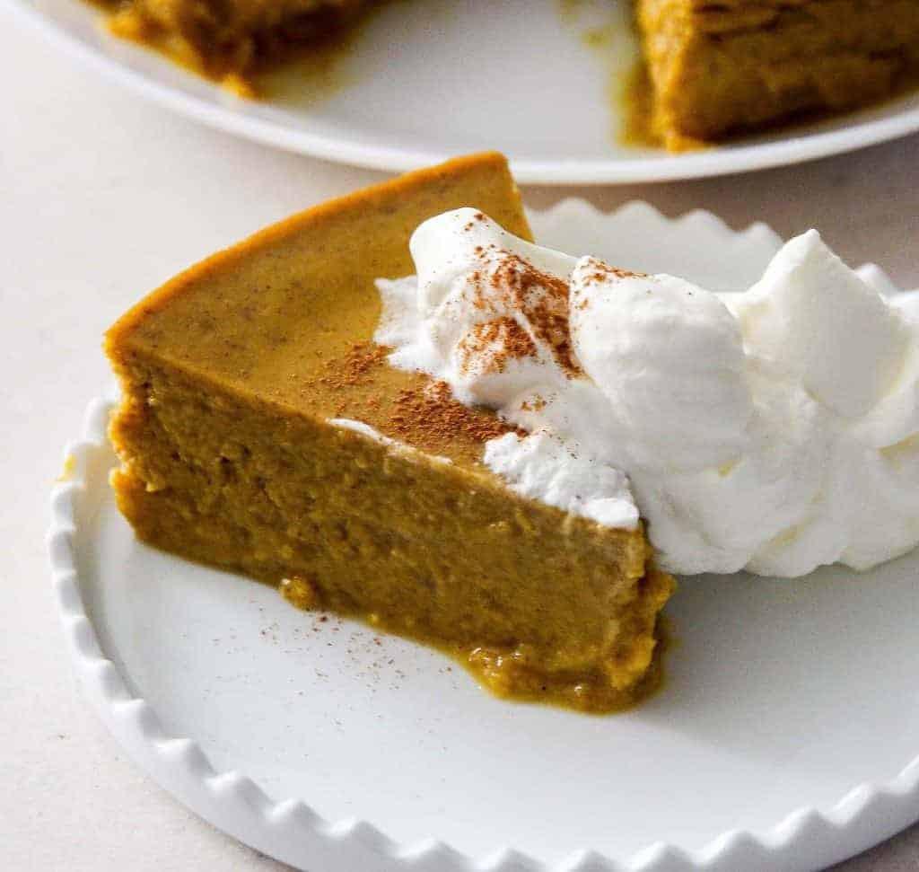 Keto Pumpkin Pie  Pressure Cooker Keto Low Carb Pumpkin Pie Pudding – Two