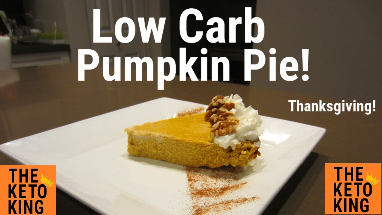 Keto Pumpkin Pie  EASY Low Carb Pumpkin Pie