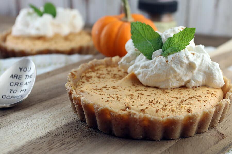 Keto Pumpkin Pie  25 Keto Thanksgiving Meal Ideas