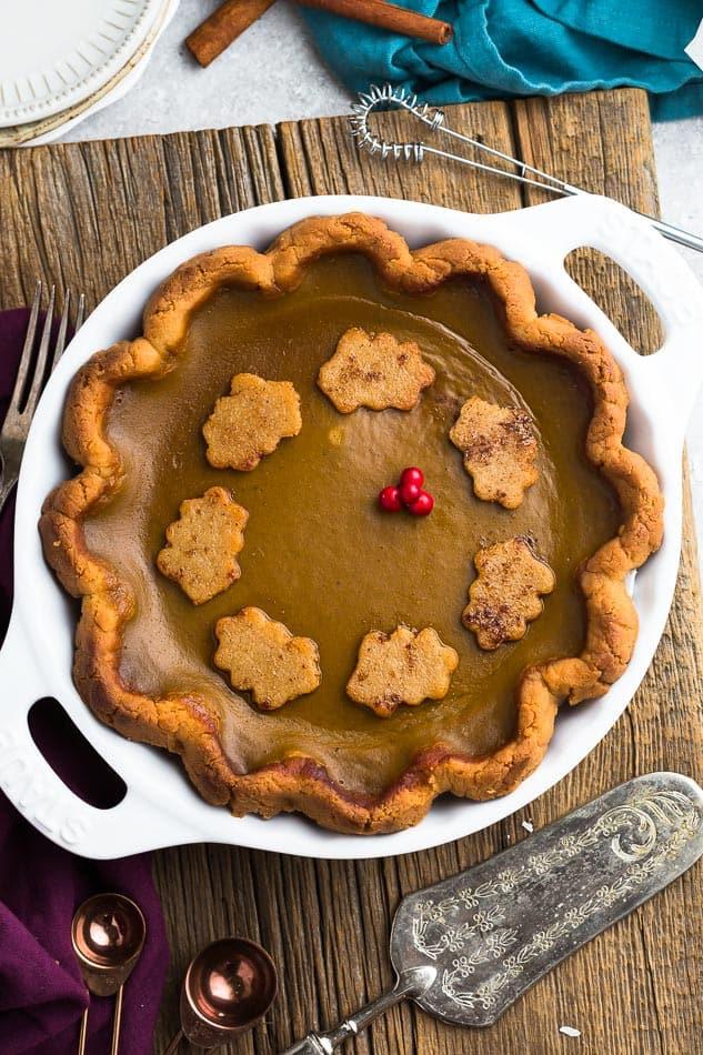 Keto Pumpkin Pie  Low Carb Pumpkin Pie Life Made Keto
