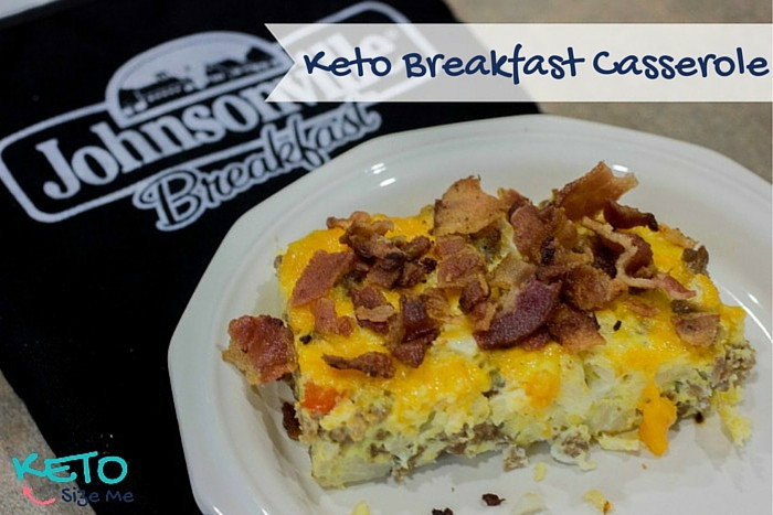 Keto Recipes Breakfast  italian sausage and eggs
