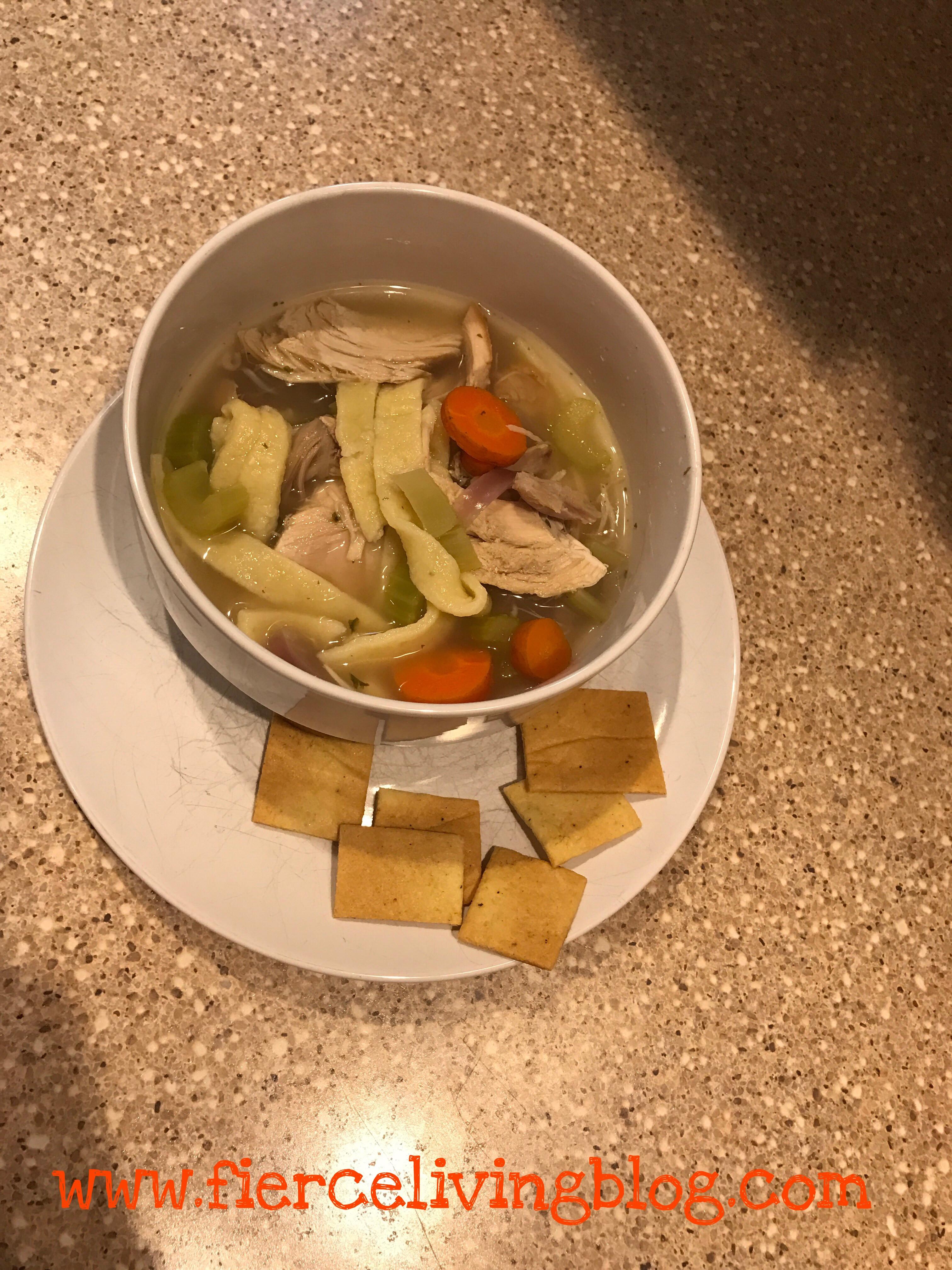 Keto Turkey Soup  Keto Turkey Noodle Soup for your soul – Fierce Living
