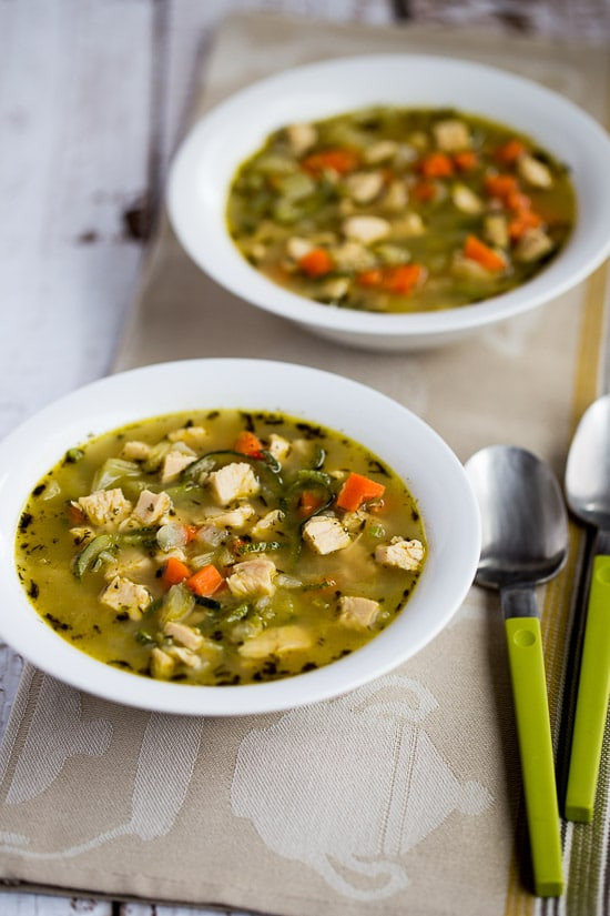 Keto Turkey Soup  10 Low Carb Soups to Warm Your Soul Glue Sticks and Gumdrops