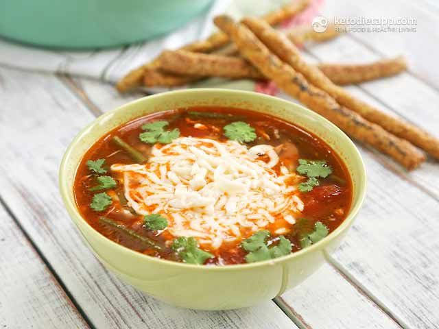 Keto Turkey Soup  52 best images about Low Carb Keto Lunch & Dinner on