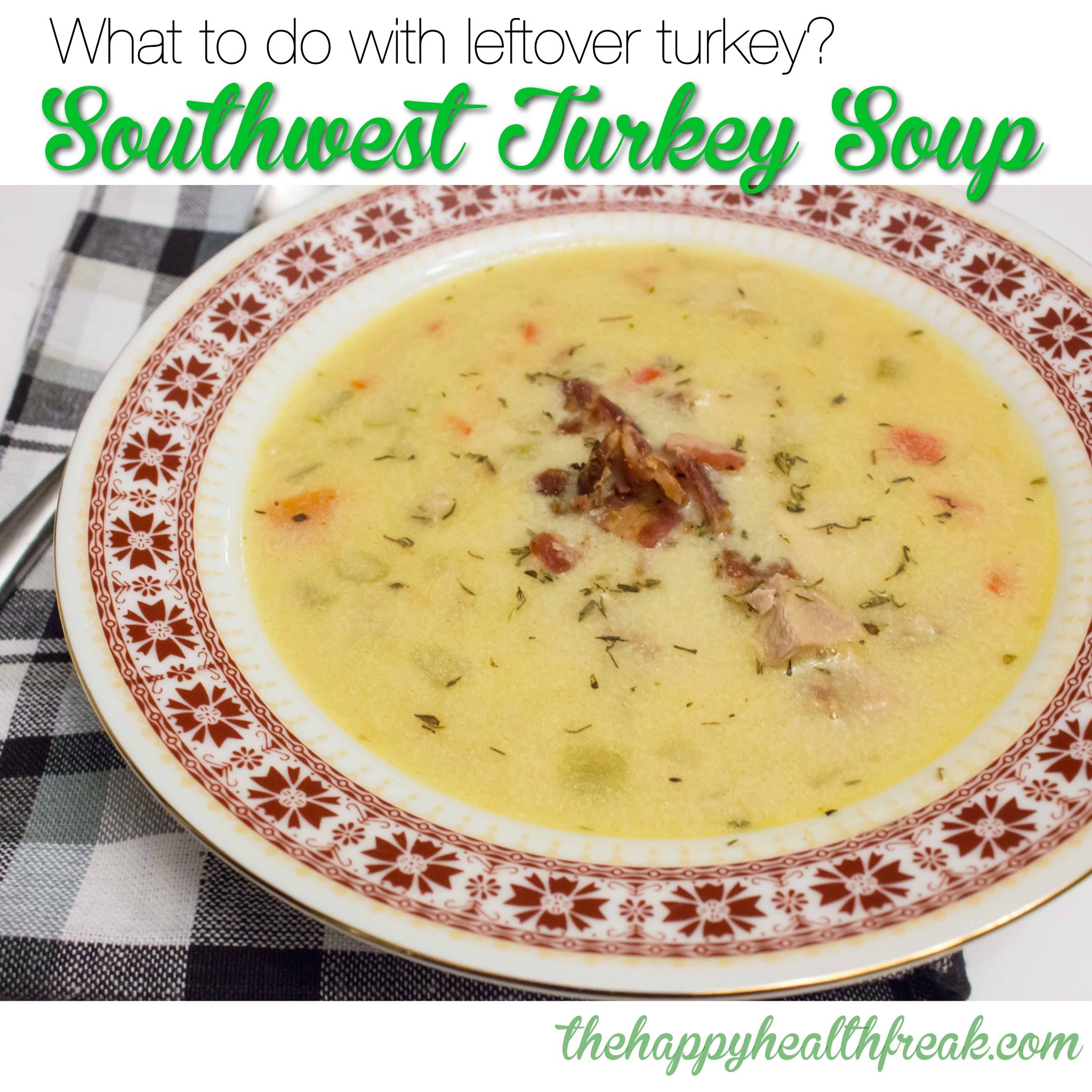Keto Turkey Soup  Spice up that boring leftover turkey soup The Happy