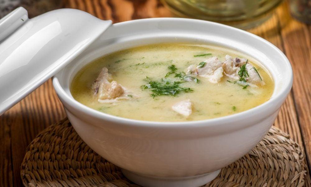 Keto Turkey Soup  Harlan Kilstein s pletely Keto Creamy Turkey Soup