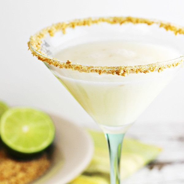Key Lime Pie Martini  Coconut Key Lime Pie Martini Recipe Home Cooking Memories