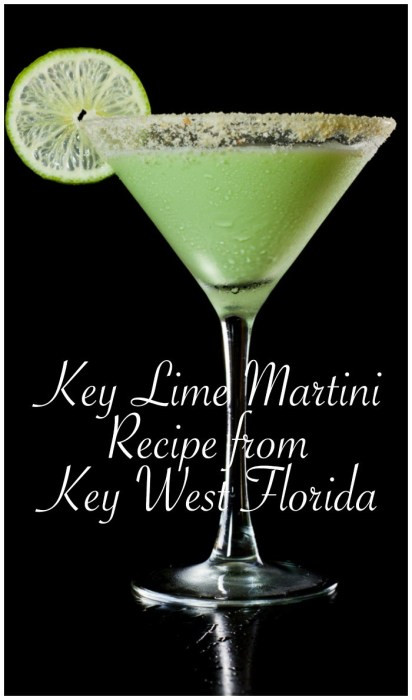 Key Lime Pie Martini  The Best Key Lime Pie Martini Recipe From Key West Florida