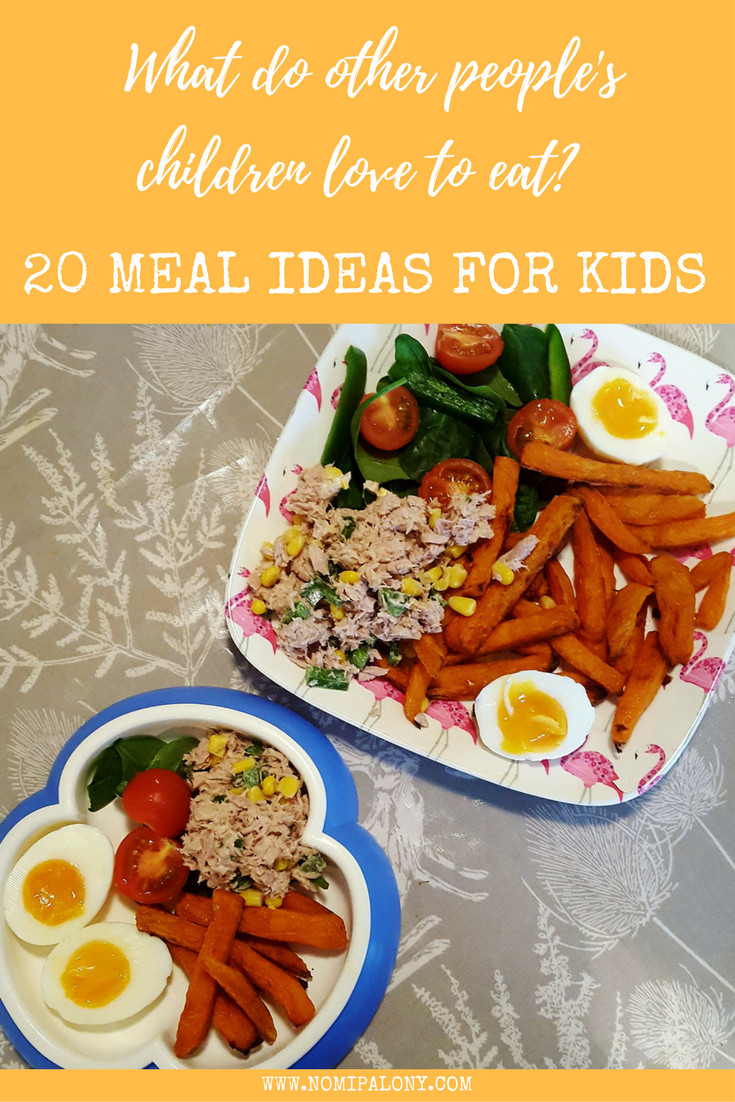 Kids Dinner Ideas  What do other people s children eat 20 meal ideas for