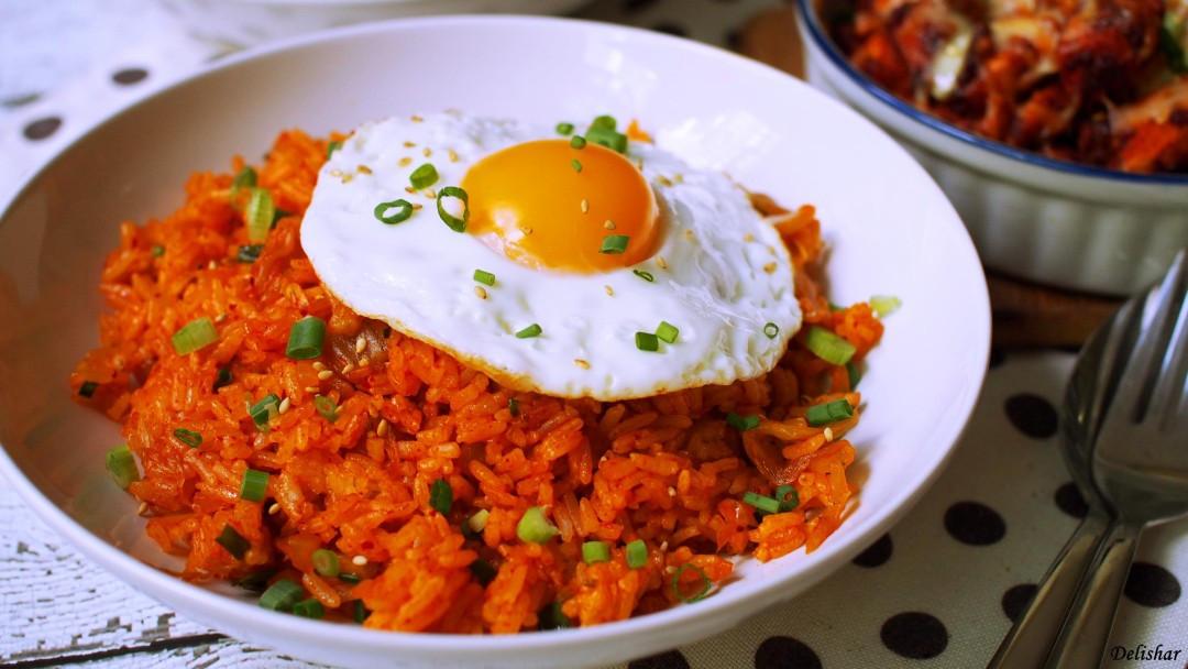 Kimchi Fried Rice  Kimchi Fried Rice