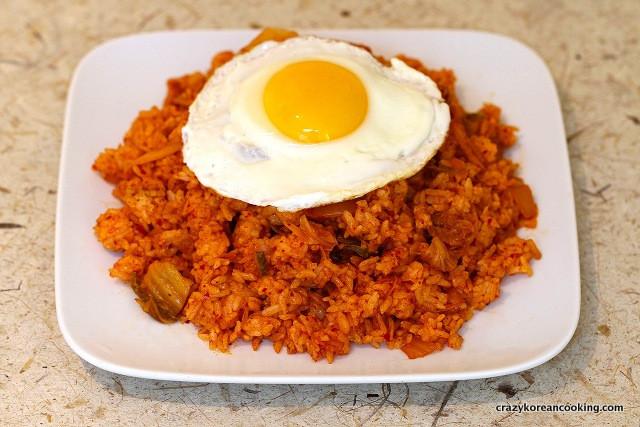 Kimchi Fried Rice  Kimchi Fried Rice Kimchi Bokkeumbap