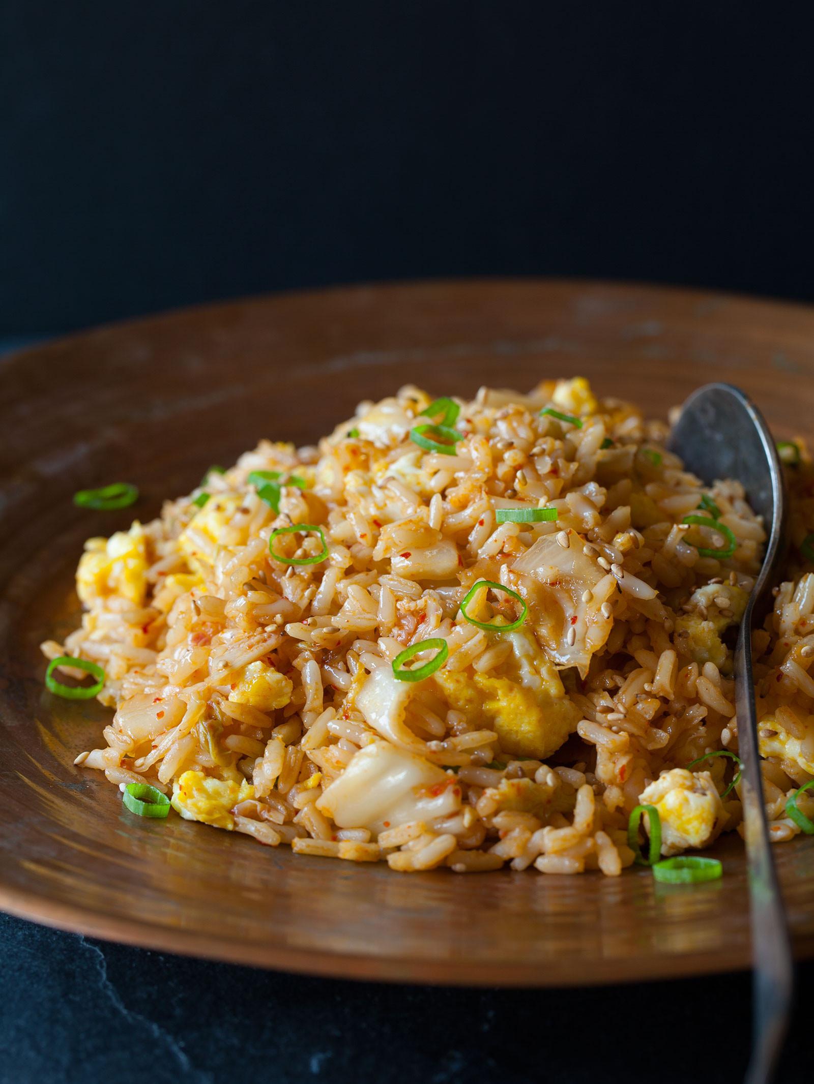 Kimchi Fried Rice  Kimchi Fried Rice Side dish recipe