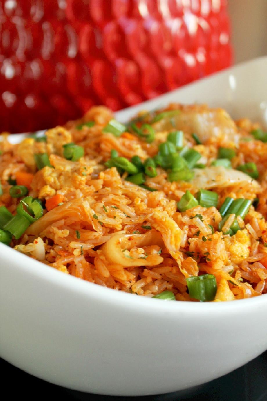 Kimchi Fried Rice  Kimchi Fried Rice Creole Contessa