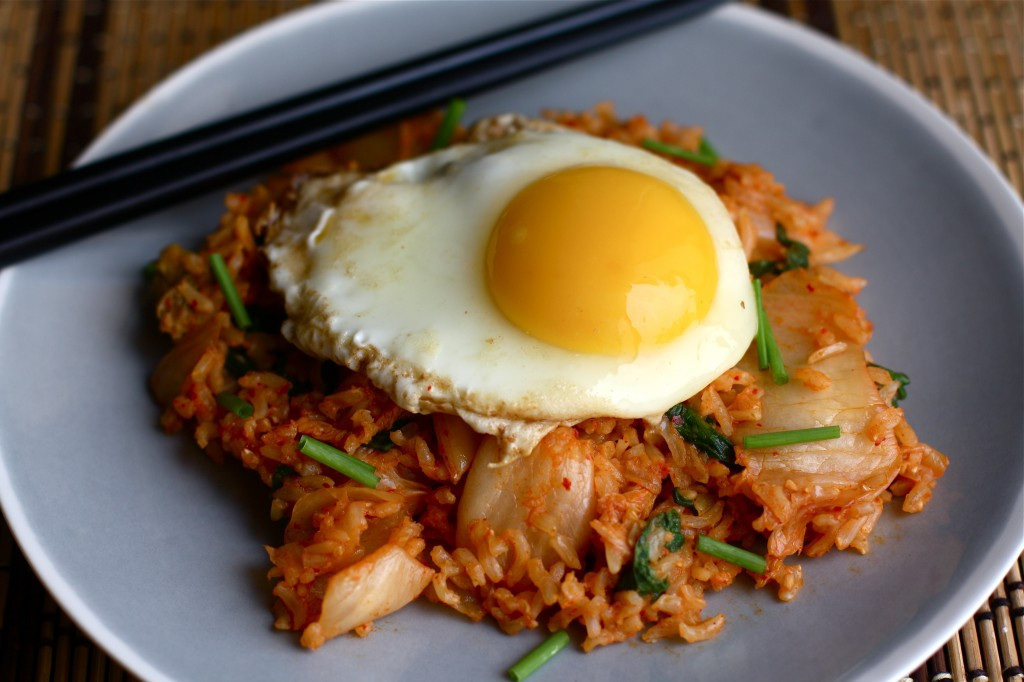 Kimchi Fried Rice  Kimchi Fried Rice with Spinach Orchard Street Kitchen