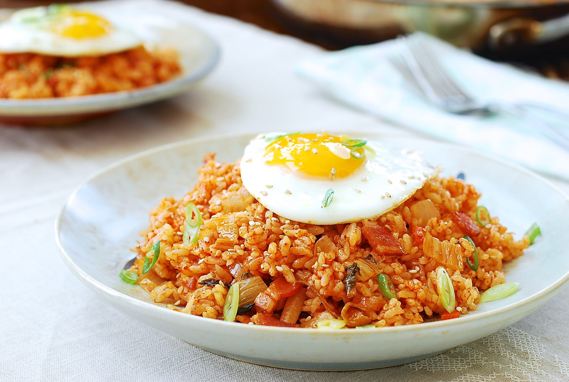 Kimchi Fried Rice  Kimchi Fried Rice the best recipe quick and easy