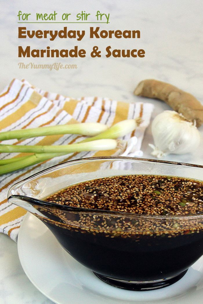 Korean Bbq Sauce Recipe  25 best ideas about Bulgogi Marinade on Pinterest