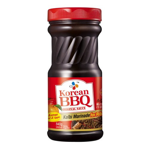 Korean Bbq Sauce Recipe  Korean BBQ Sauce Kalbi 29 63 Ounce Bottle for Ribs 4 pack