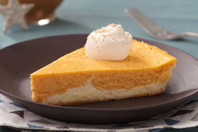Kraft Cheesecake Recipe  Double Layer Pumpkin Cheesecake Kraft Recipes