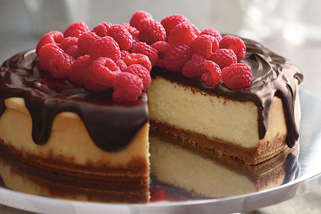 Kraft Cheesecake Recipe  Dark Chocolate Ganache Cheesecake Kraft Recipes