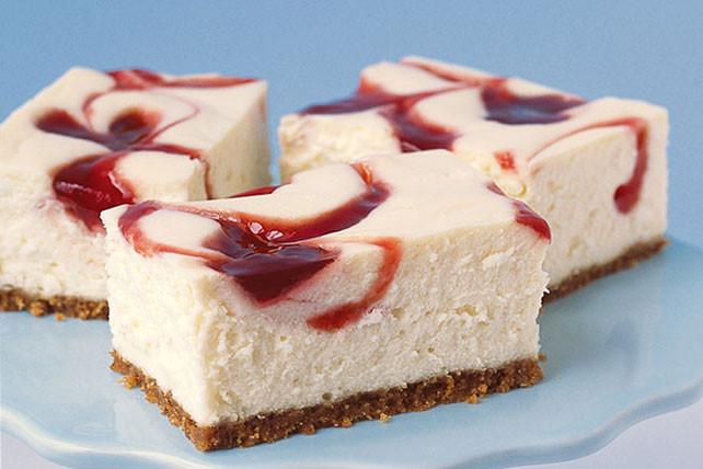 Kraft Cheesecake Recipe  PHILADELPHIA New York Style Strawberry Swirl Cheesecake