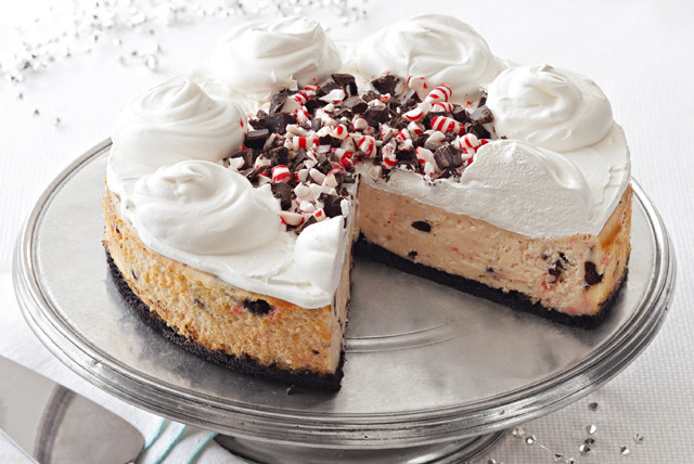 Kraft Cheesecake Recipe  Peppermint Bark Cheesecake Recipe Kraft Recipes