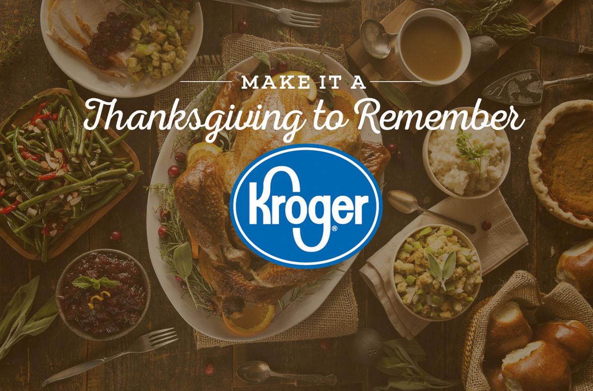 Kroger Thanksgiving Dinner  Thanksgiving Recipes & Planning ideas from Kroger