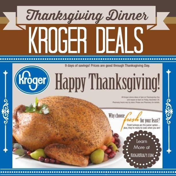 Kroger Thanksgiving Dinner  Roundup of Thanksgiving Dinner Essentials at Kroger
