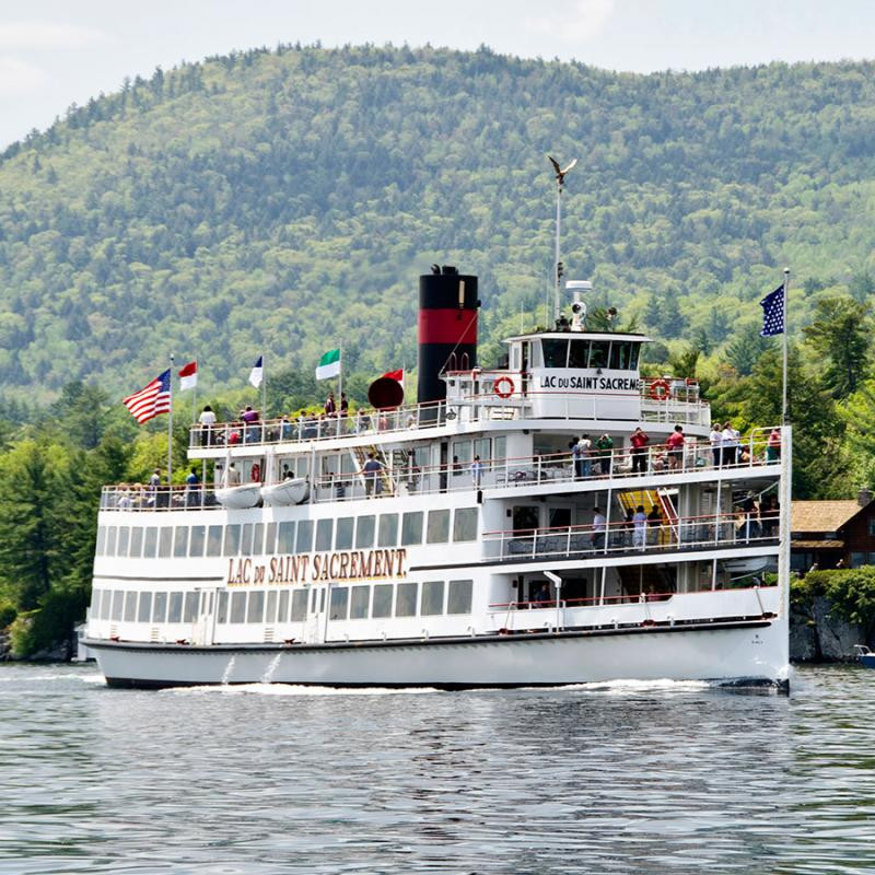 Lake George Dinner Cruise  Celebrate the 200th Anniversary of the Lake George