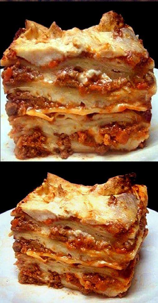 Lasagna Sauce Recipe  lasagna bolognese with bechamel sauce