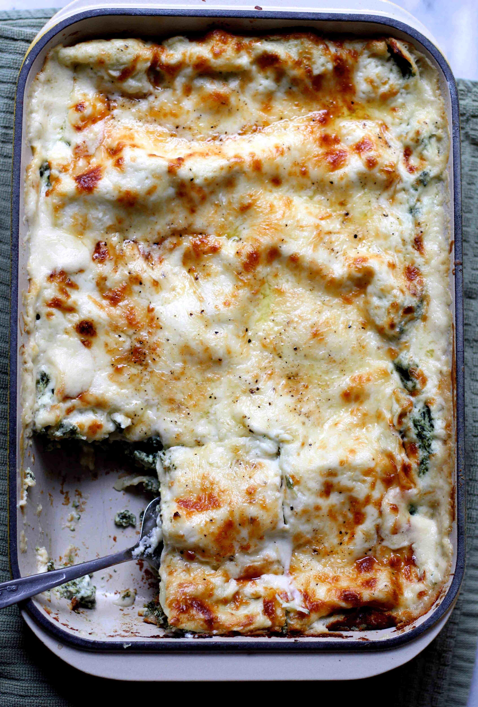 Lasagna Sauce Recipe  easy spinach lasagna with white sauce recipes