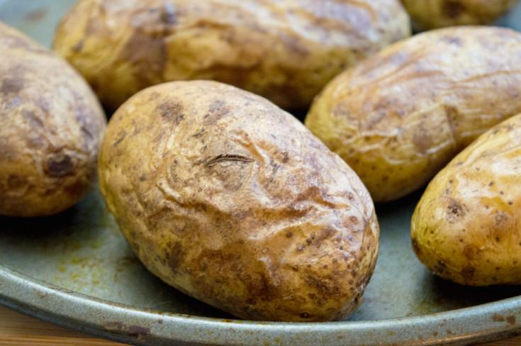 Leftover Baked Potato  Loaded Thanksgiving Leftover Baked Potatoes Family Fresh