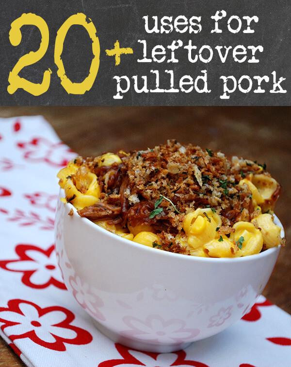Leftover Pork Shoulder Recipes  Leftover Pulled Pork Recipes