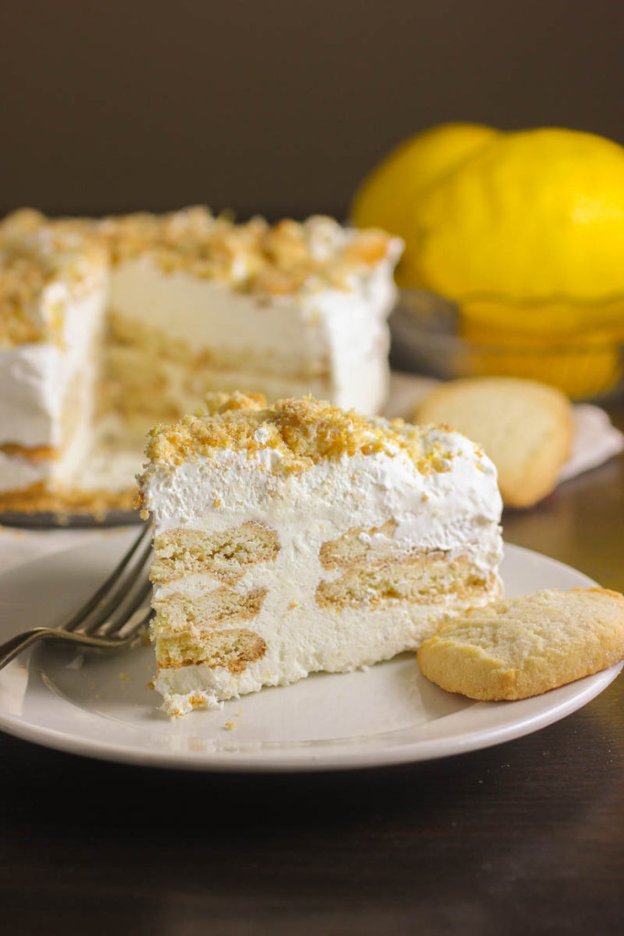 Lemon Icebox Cake  Lemon and Shortbread Icebox Cake