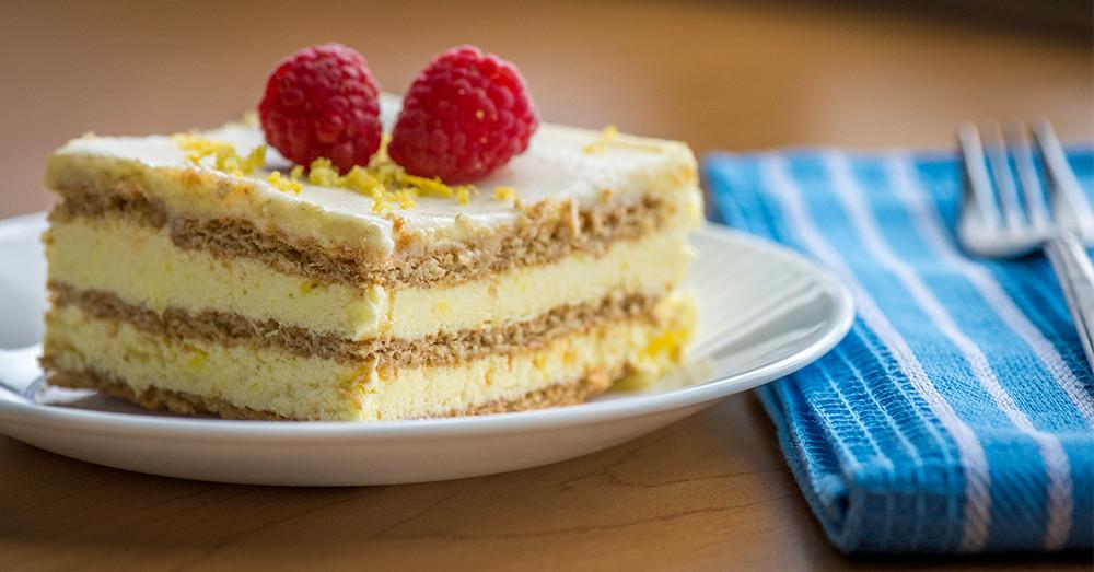 Lemon Icebox Cake  Sunny No Bake Lemon Icebox Cake – 12 Tomatoes