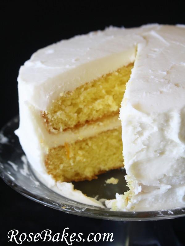Lemon Icebox Cake  Lemon Icebox Cake with Lemon Curd Filling & Cream Cheese