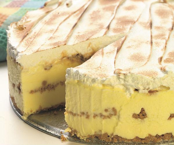Lemon Icebox Cake  Lemon Caramel Icebox Cake Recipe FineCooking
