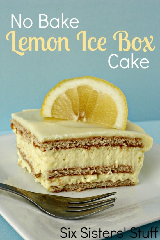 Lemon Icebox Cake  No Bake Lemon Icebox Cake The Frugal Female